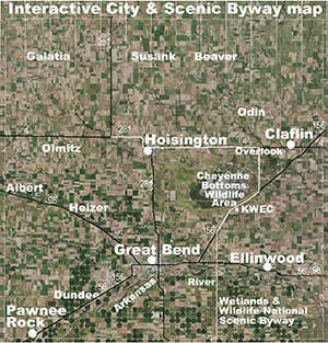 Barton County Interactive City Scenic Byway Map